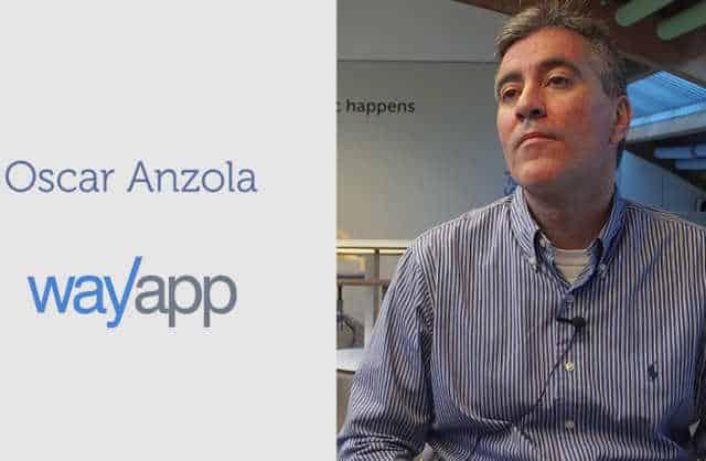 Entrevista con Óscar Anzola, fundador de WayApp