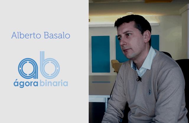 Entrevista a Alberto Basalo, fundador Ágora Binaria