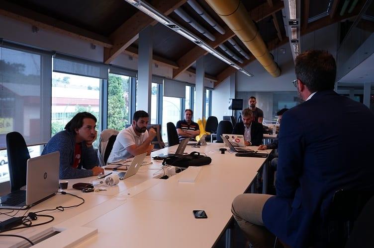Las startups del programa hablando sobre experiencia de usuario