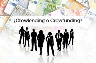 ¿Crowlending o Crowfunding? La mejor manera de financiar tu startup.
