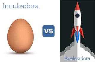 Diferencias entre incubadora y aceleradora pequeña
