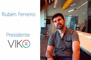 Entrevista a Rubén Ferreiro, presidente de VIKO