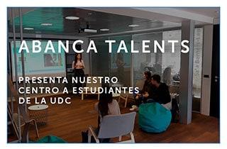 ABANCA talents presenta nuestro centro a estudiantes de la UDC