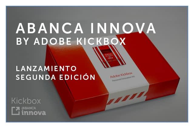 Lanzamiento 2ª edición del programa ABANCA Innova by Adobe Kickbox