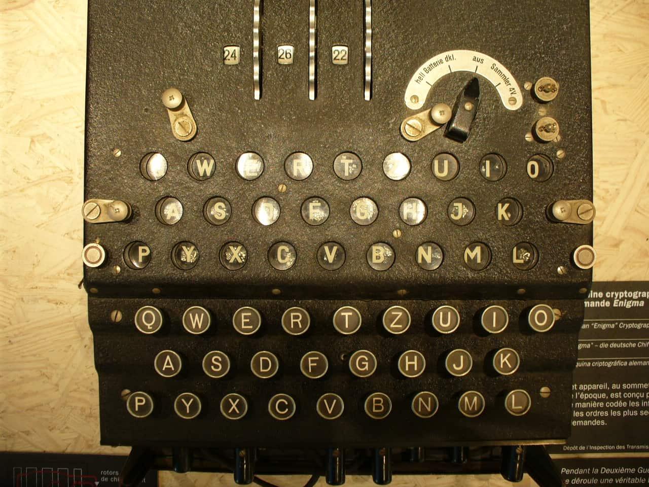 Maquina Enigma Alan Turing