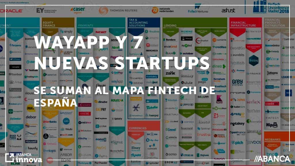 Wayapp y 7 nuevas startups se suman al mapa Fintech en España.