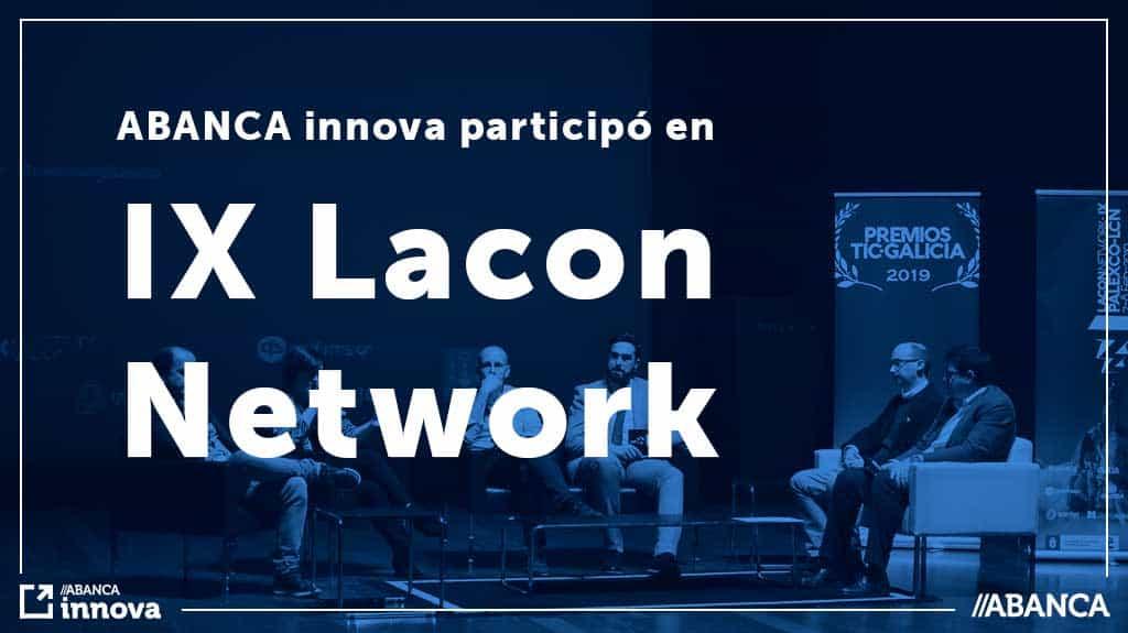 ABANCA innova estuvo presente en la IX LaconNetwork