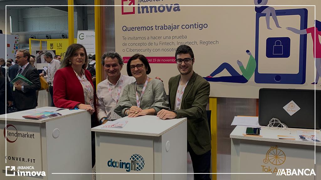 ABANCA innova participó en el South Summit 2019