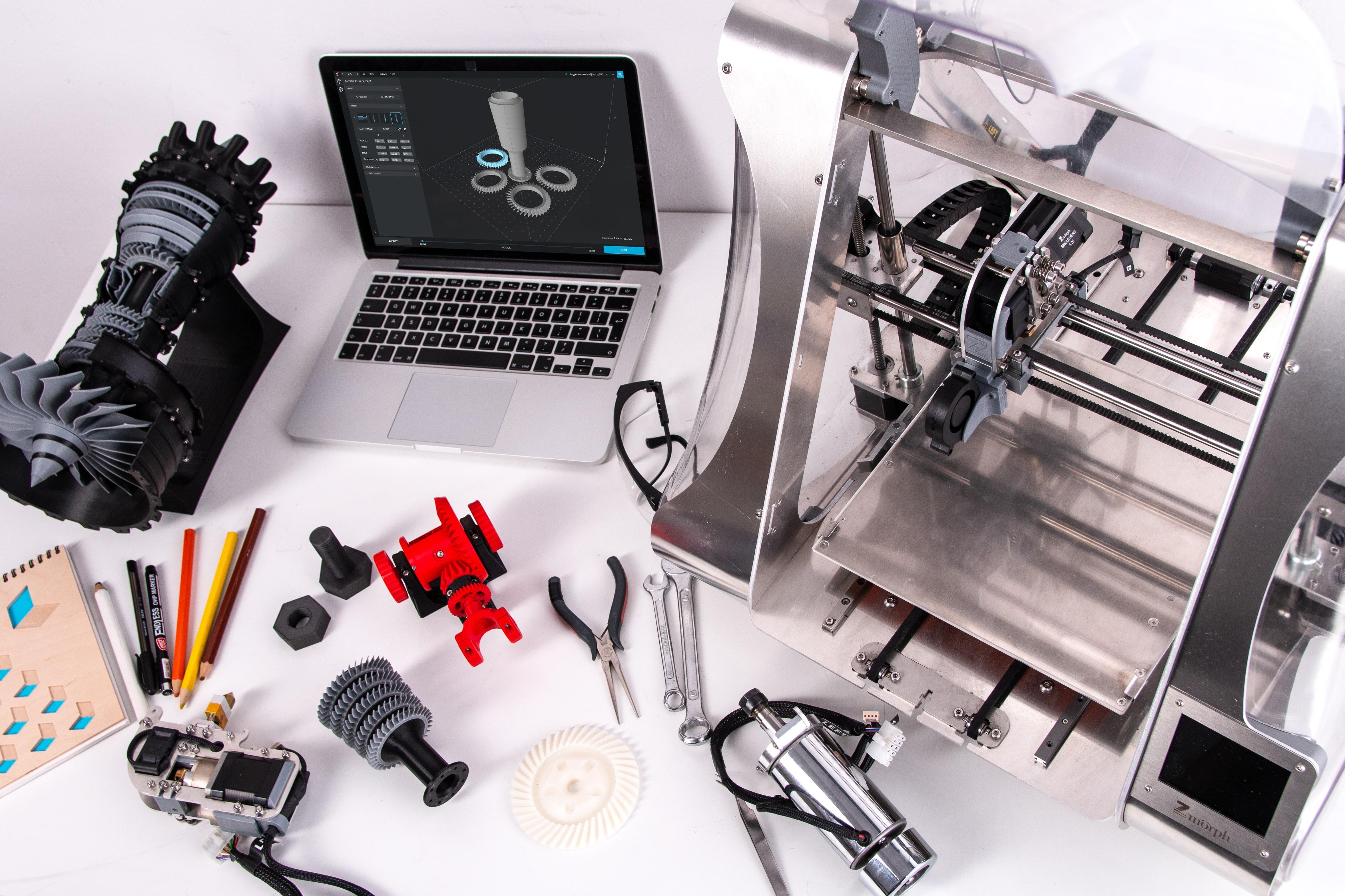 La impresión 3D. Un invento del pasado, muy presente, pero con mucho futuro.