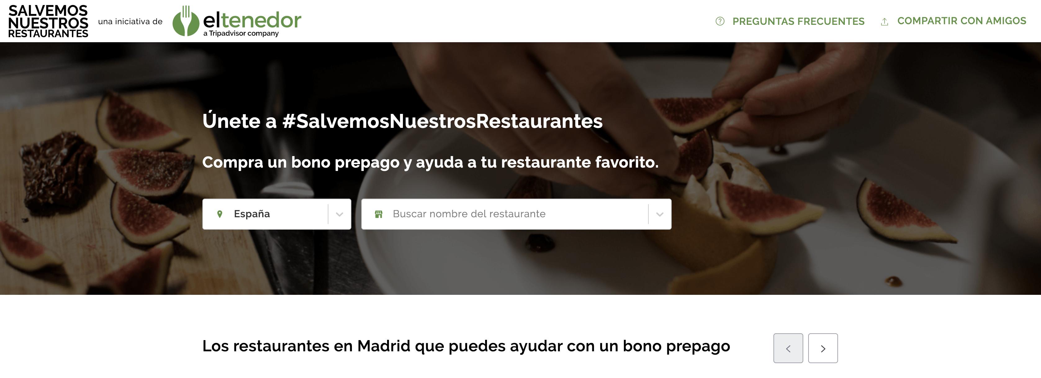 Salvemos nuestros restaurantes